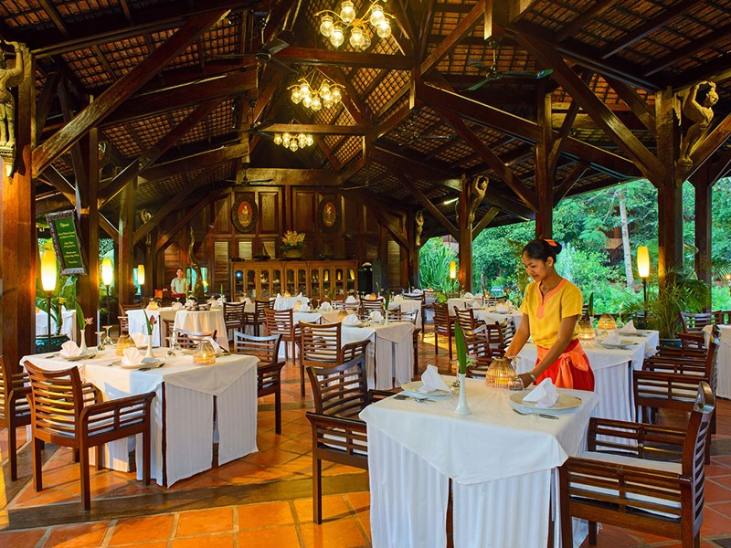 Autre vue du restaurant Aaraama de l'Angkor Village Resort