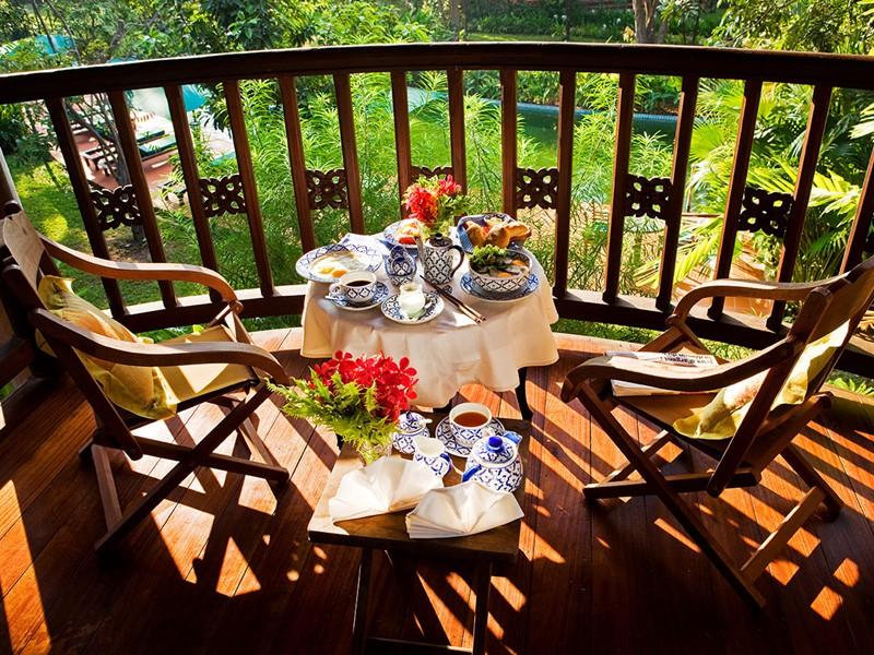 Petit déjeuner de l'Angkor Village Resort au Cambodge