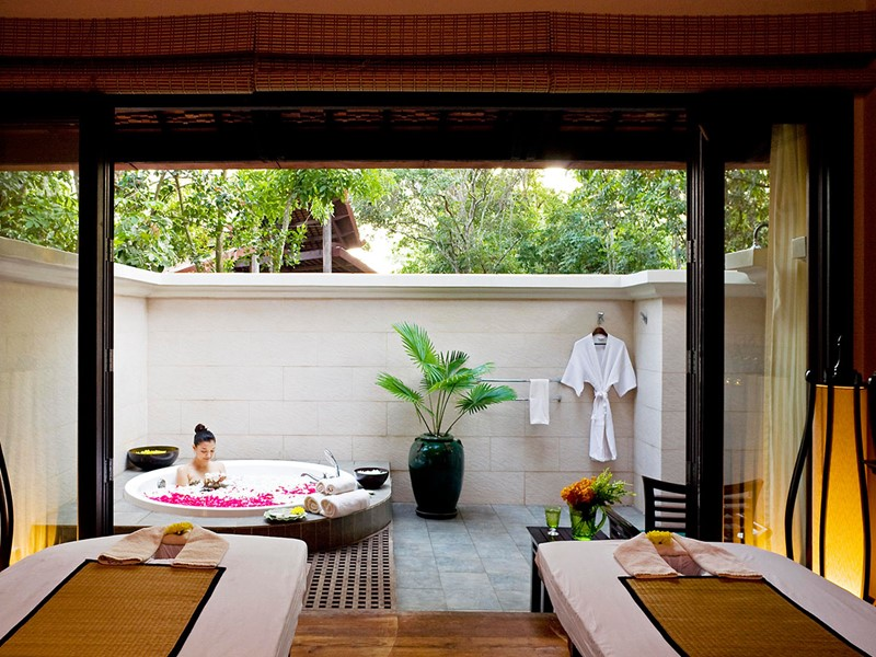 Le spa de l'hôtel 4 étoiles Angkor Village Resort