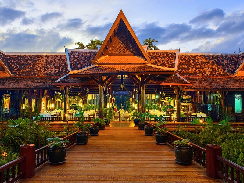 Le restaurant Aaraama de l'Angkor Village Resort