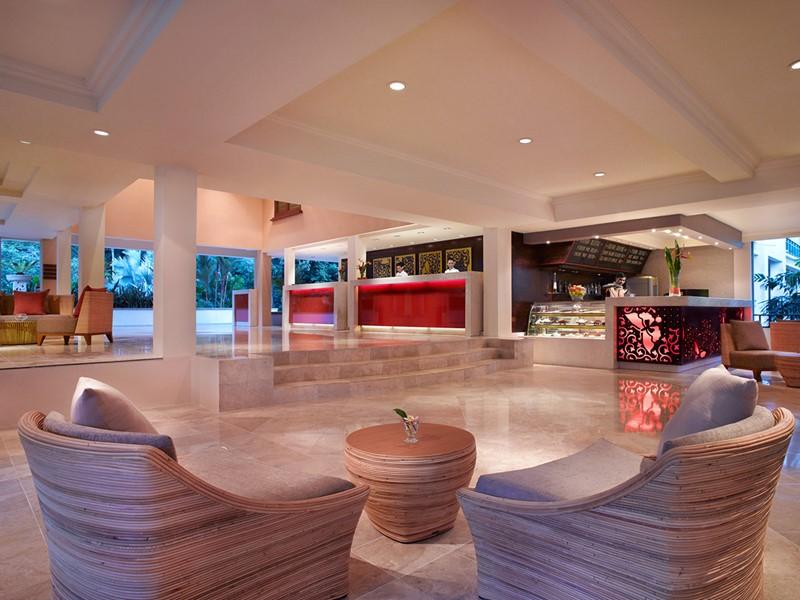 Le lobby de l'Angsana Resort & Spa à Bintan
