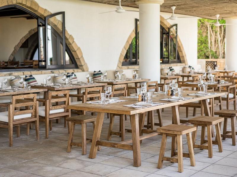 Le restaurant Meditterraneo