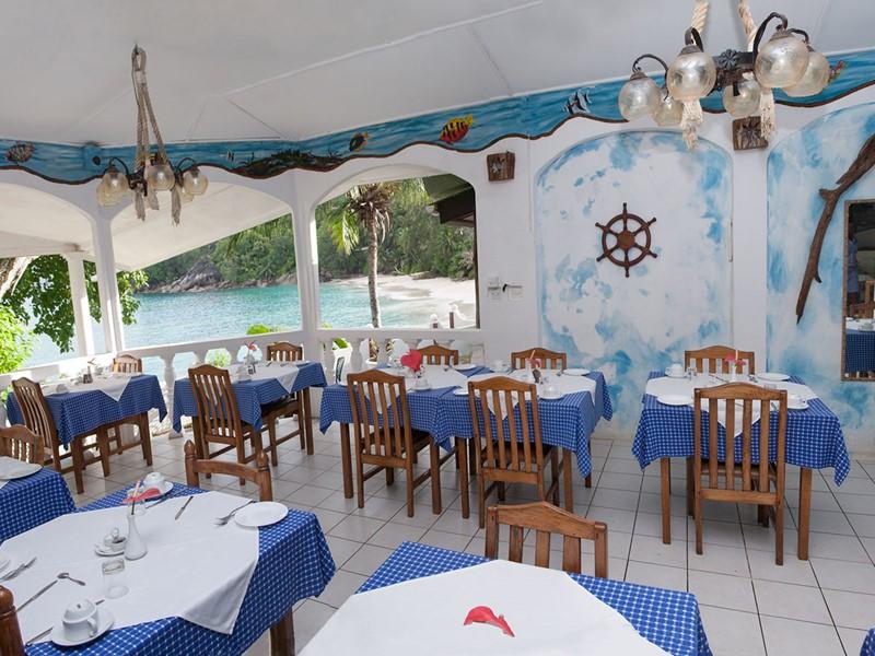 Restaurant de l'Anse Soleil Beachcomber à Mahé
