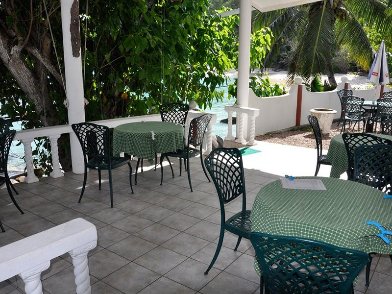Autre restaurant de l'hôtel Anse Soleil Beachcomber