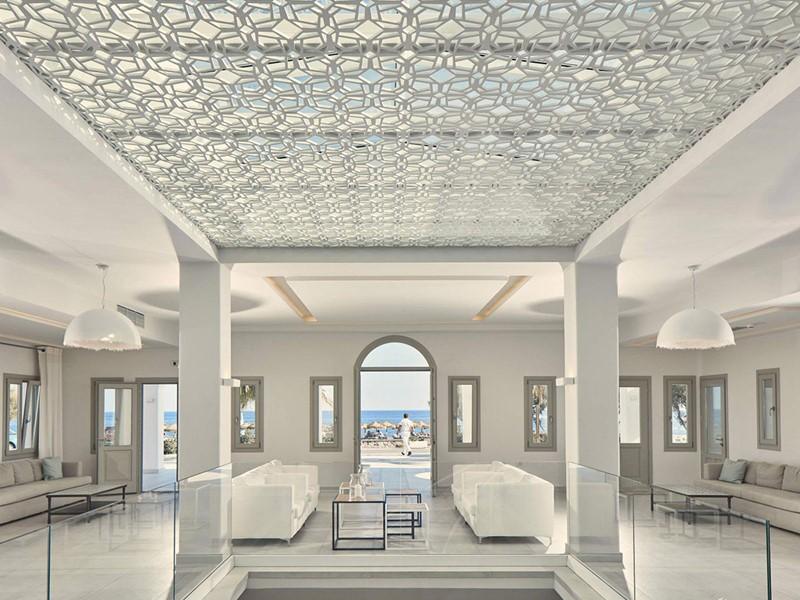 Le lobby de l'Aqua Blue