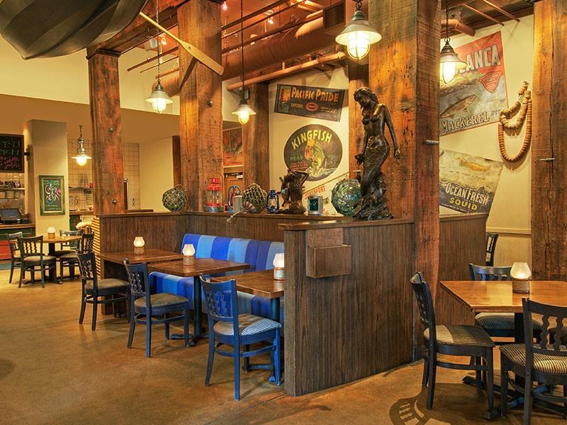 Le restaurant Blue Mermaid de l'hôtel 4 étoiles Argonaut