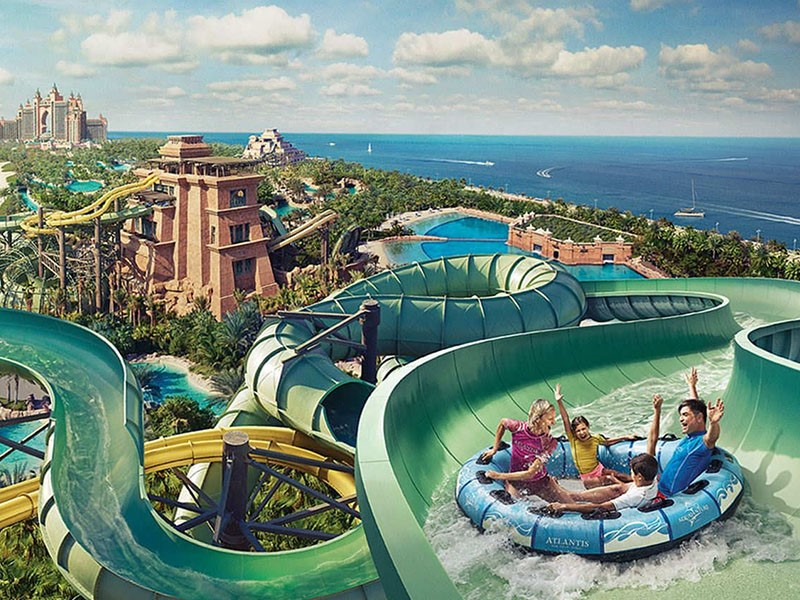 Aquaventure Waterpark de l'Atlantis The Palm