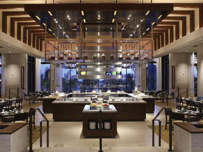 Le restaurant Mosaic de l'Atlantis aux Bahamas