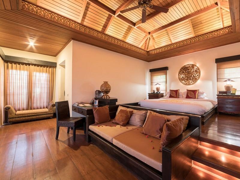 Chambre de la Island Villa