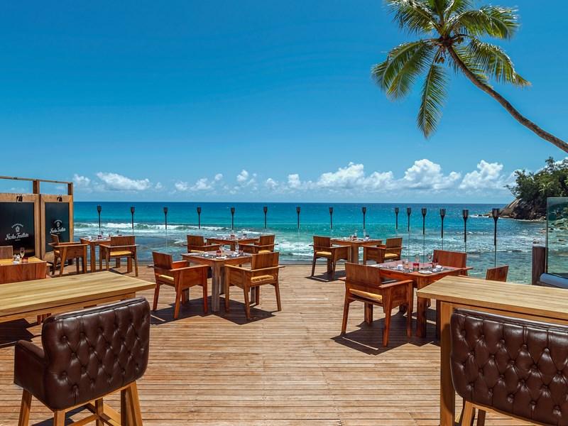 Vue sur la mer depuis le restaurant The Terrace