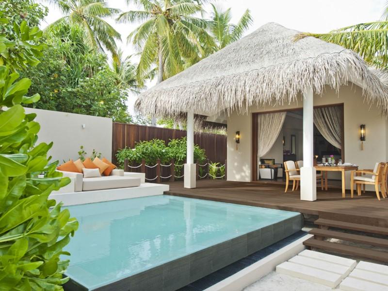 La piscine de la Beach Villa