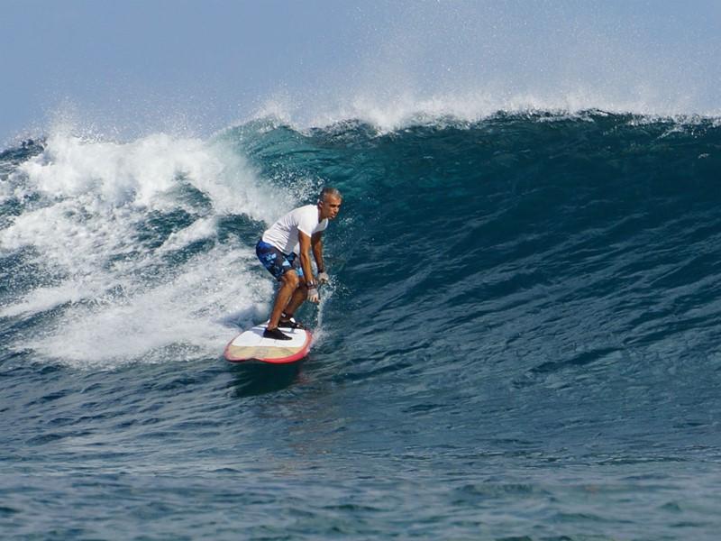 Profitez de votre séjour pour vous essayer au surf