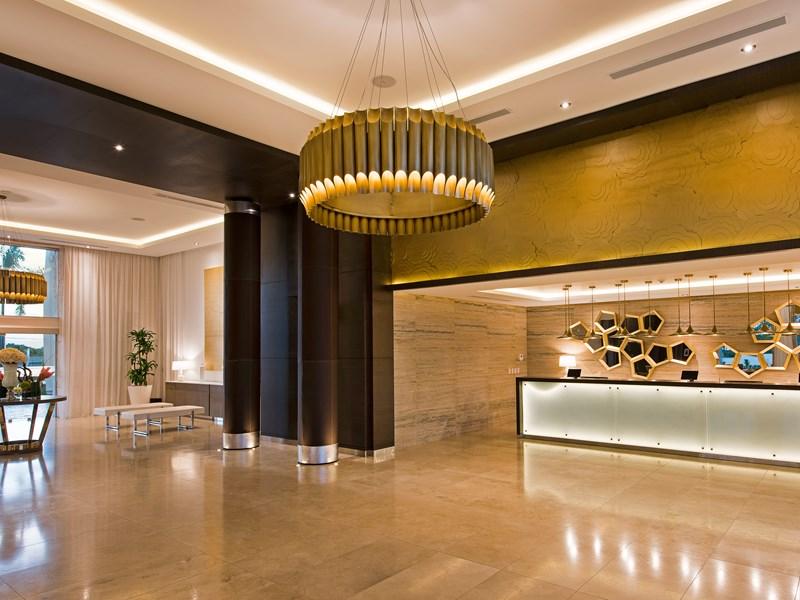 Le lobby, un espace accueillant et design
