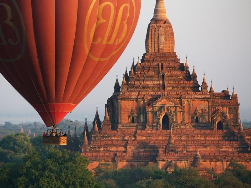 Séjour à Bagan