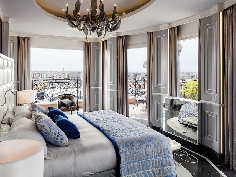 Roman Penthouse du Baglioni Hotel Regina, en Italie