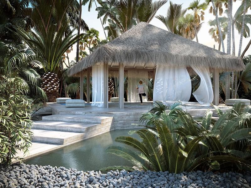Yoga à l'hôtel Baglioni Resort Maldives