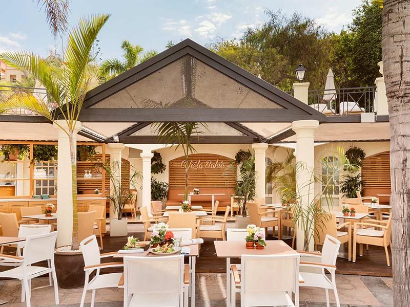 Le Café La Bahía du Bahia Del Duque aux Canaries