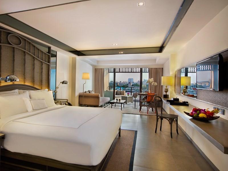 Profitez des chambres élégamment décorées