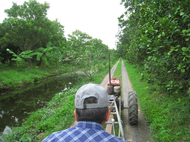 Passez la journée dans un village de fermiers