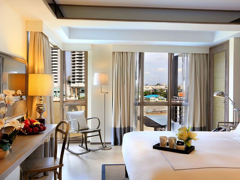 La Riva Room de votre hôtel au cœur de Bangkok