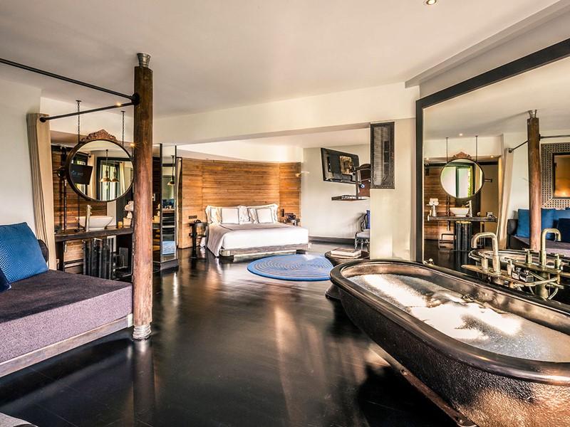 La D-Buk Suite de l'hôtel The Slate Phuket