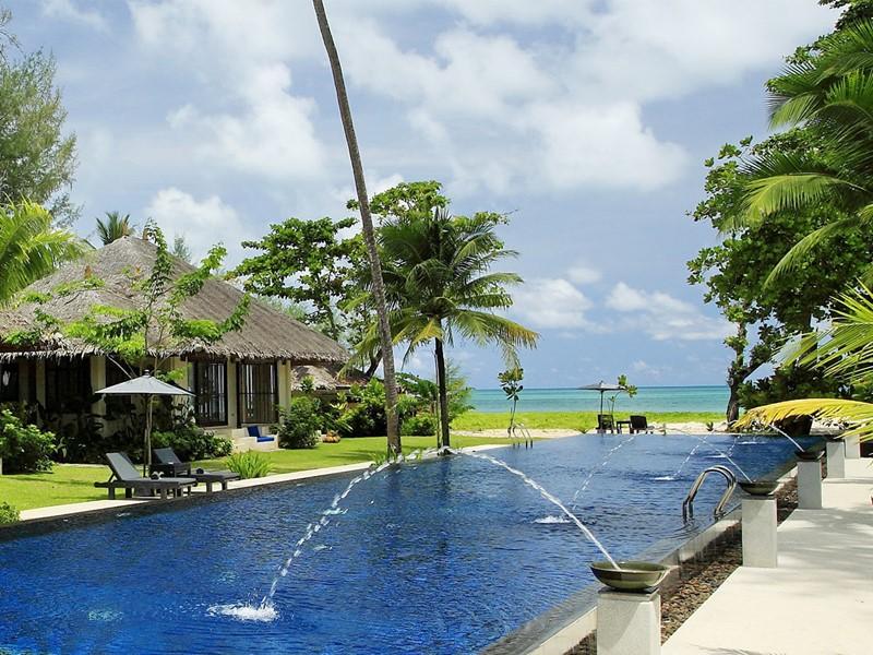 La piscine du Coco Chalet