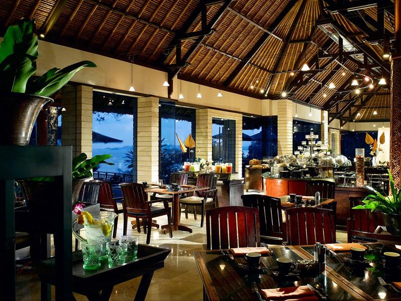Restaurant Treetops de l'hôtel Banyan Tree