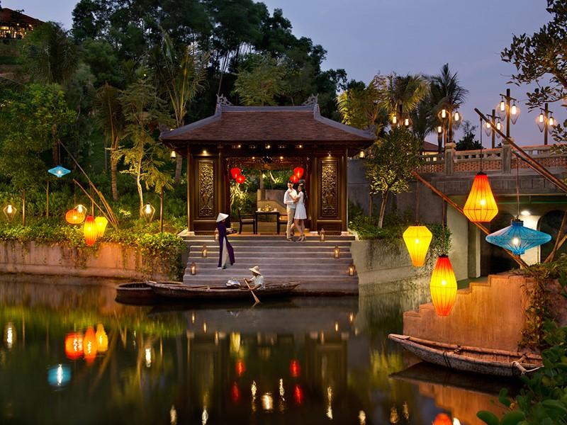 Dîner romantique dans un cadre magique au Banyan Tree
