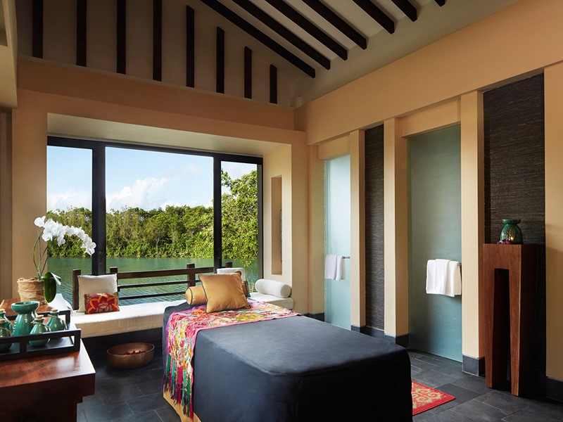 Le spa de l'hôtel 5 étoiles Banyan Tree Mayakoba