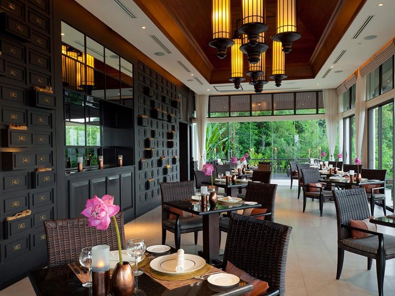 Restaurant Saffron du Banyan Tree Samui en Thailande