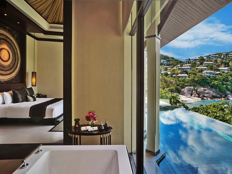 Ocean View Pool Villa de l'hôtel Banyan Tree à Koh Samui