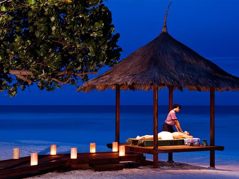 Massage devant la mer