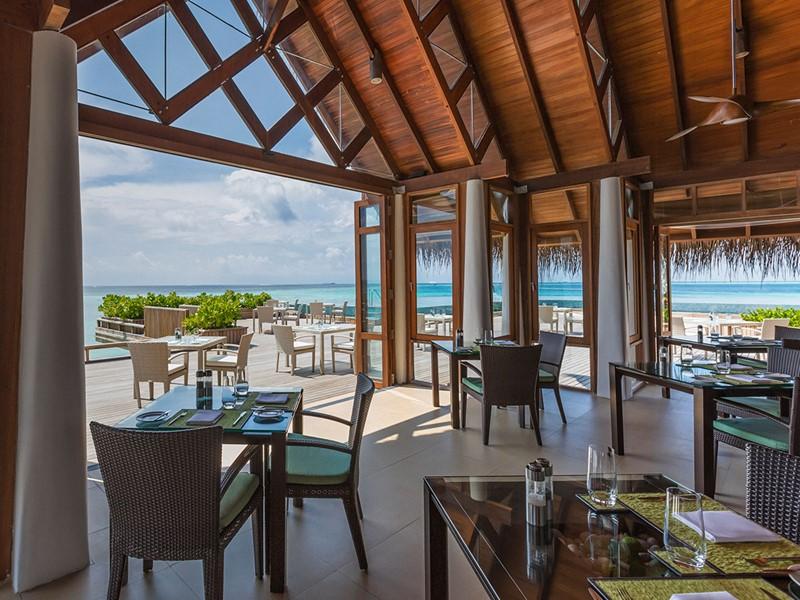 Le restaurant Lime de l'hôtel Baros aux Maldives