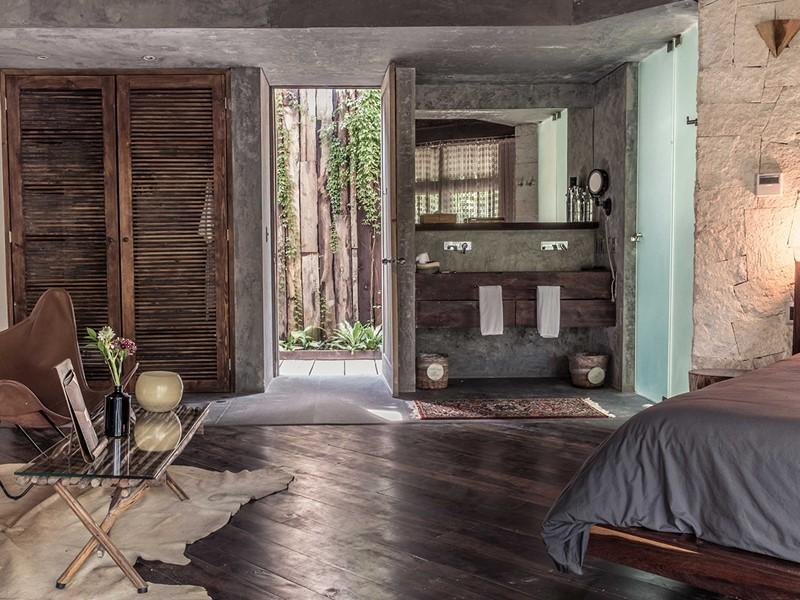 Jungle Suite du Be Tulum Hotel situé au Mexique