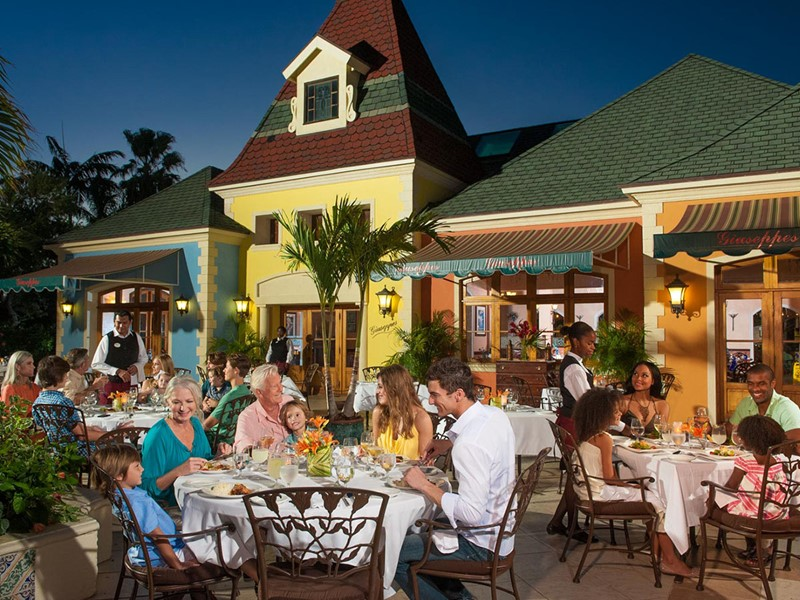 Le restaurant Giuseppe's du Beaches Turks and Caicos