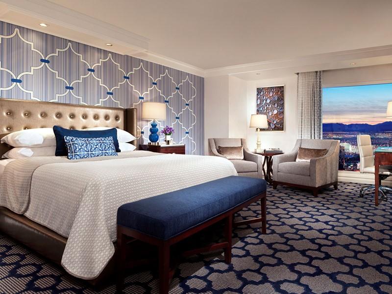 La chambre Resort King de l'hôtel Bellagio à Las Vegas