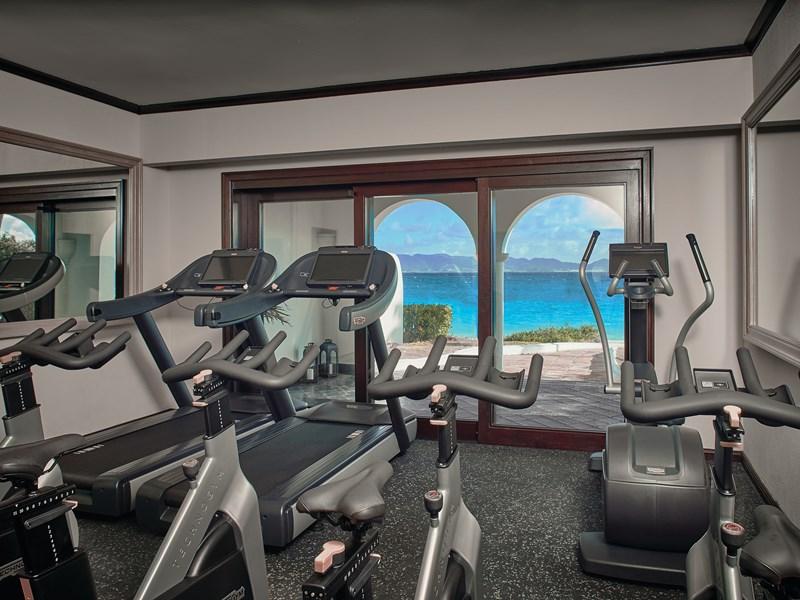 La gym de l'hôtel