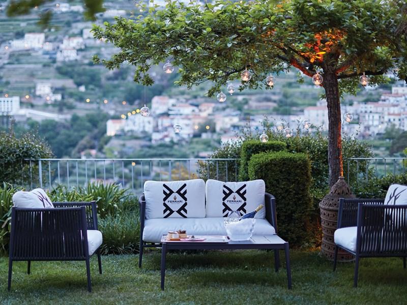 Le Sparkling Garden où apprécier un cocktail