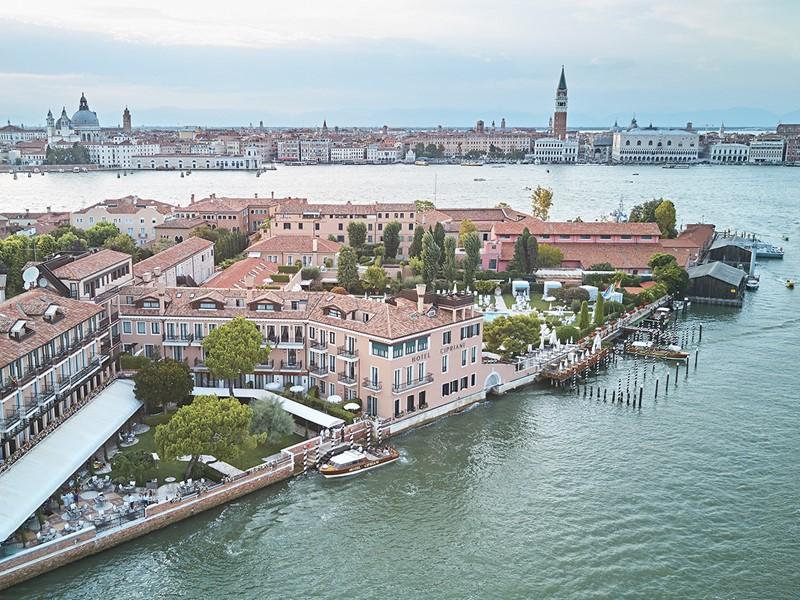 Vue aérienne du Belmond Cipriani