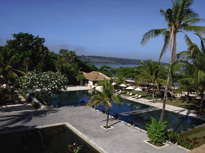 La piscine du Belmond Jimbaran situé à Bali