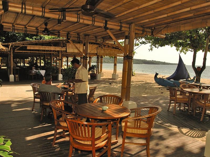 Autre vue du restaurant Nelayan du Belmond Jimbaran
