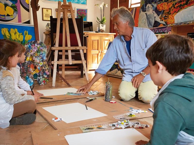 Cours d'art pour les petits