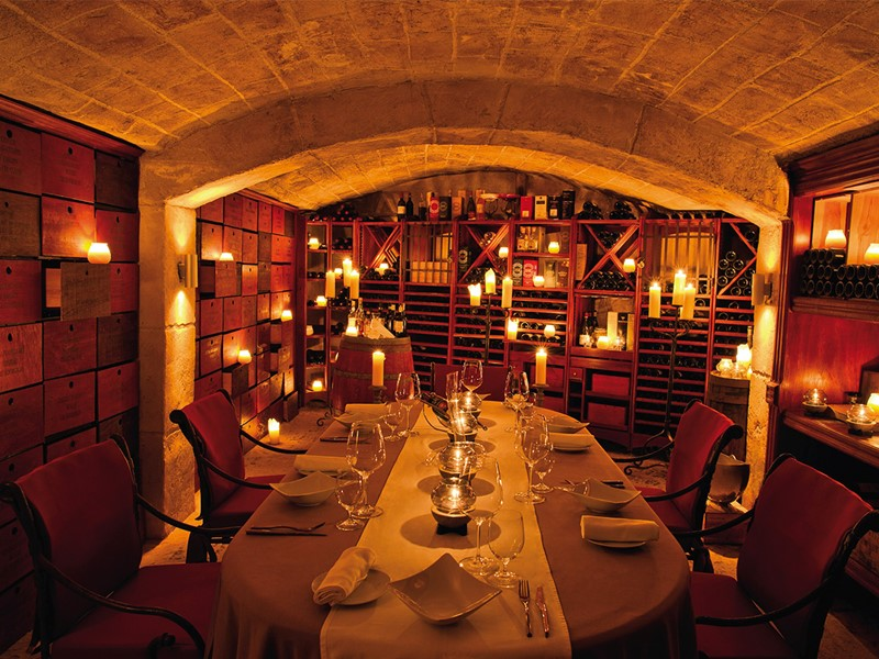 Restaurant La Cave du Belmond La Samanna à Saint-Martin