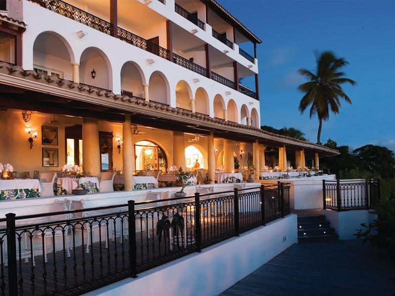 Restaurant Trellis de l'hôtel Belmond La Samanna aux Antilles