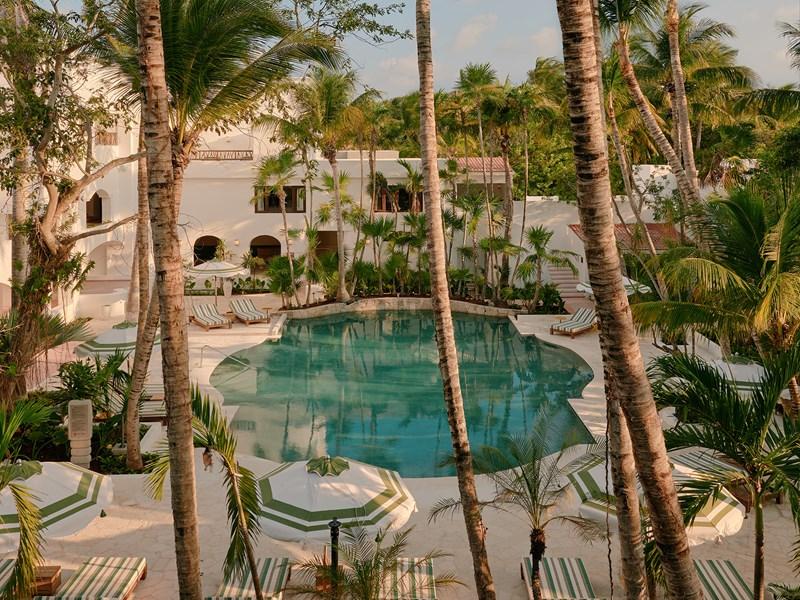 La piscine de l'hôtel Belmond Maroma Resort & Spa