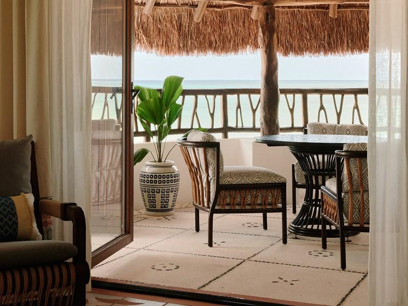 Oceanview Junior Suite du Belmond Maroma à Puerto Morelos