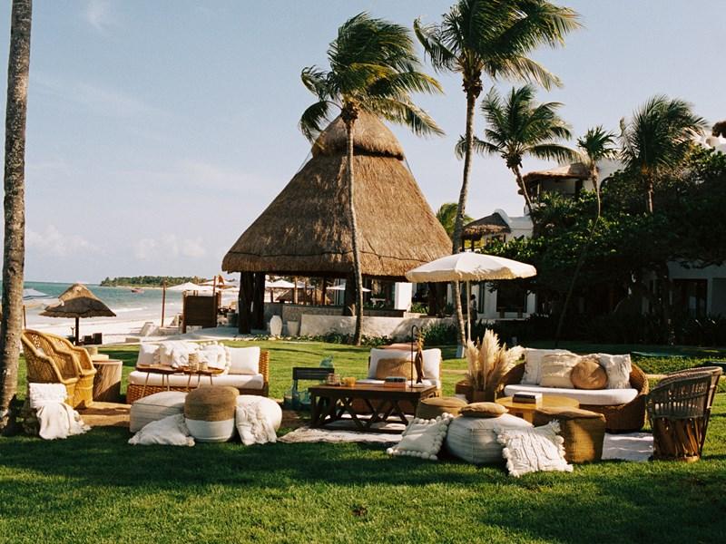 Autre vue du restaurant du Belmond Maroma Resort