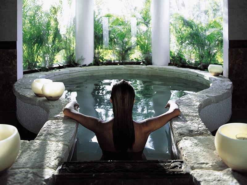 Le spa de l'hôtel 5 étoiles Belmond Maroma au Mexique