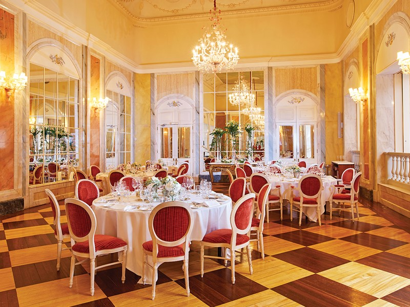 The restaurant The Dining Room du Belmond Reid's Palace