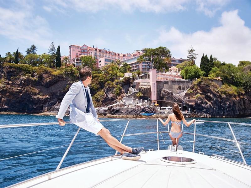 Balade dans la baie de Funchal du Belmond Reid's Palace
